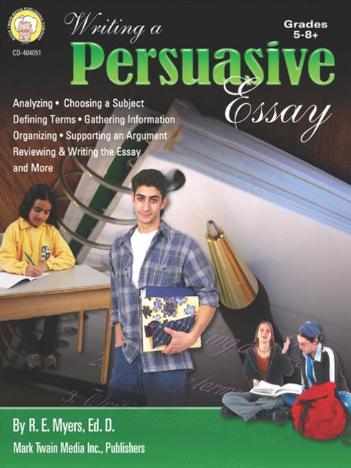 books or tv persuasive essay