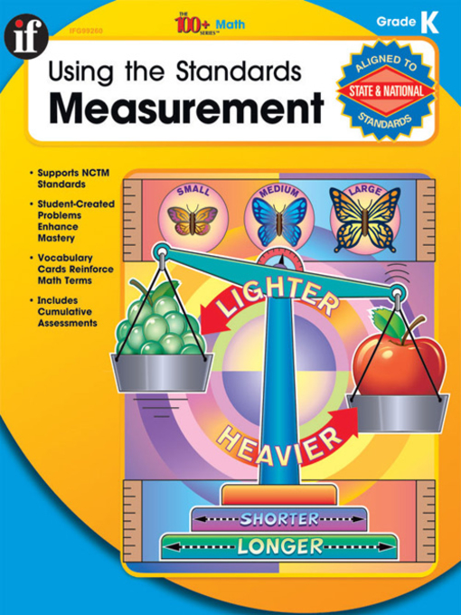 Title details for Using the Standards - Measurement, Grade K by Melissa J. Owen - Available