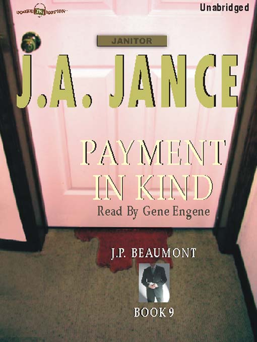 Title details for Payment in Kind by J. A. Jance - Wait list