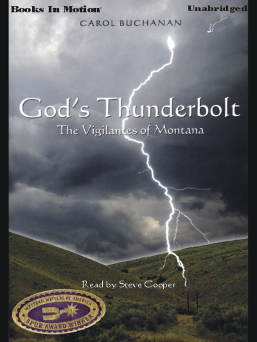 Title details for God's Thunderbolt by Carol Buchanan - Available