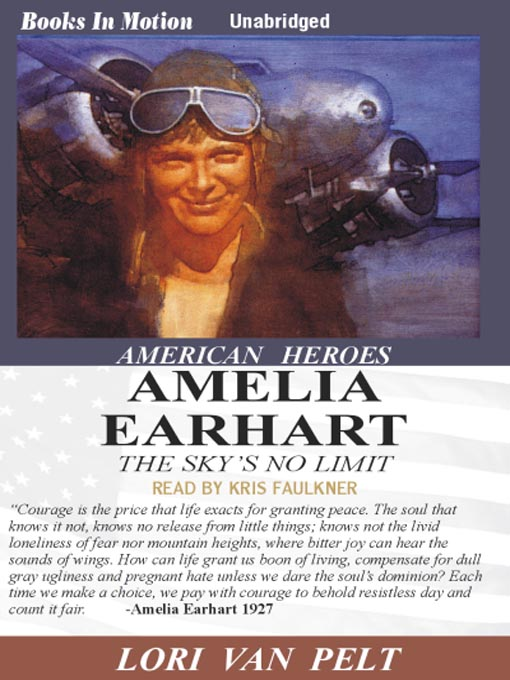 Title details for Amelia Earhart by Lori Van Pelt - Available