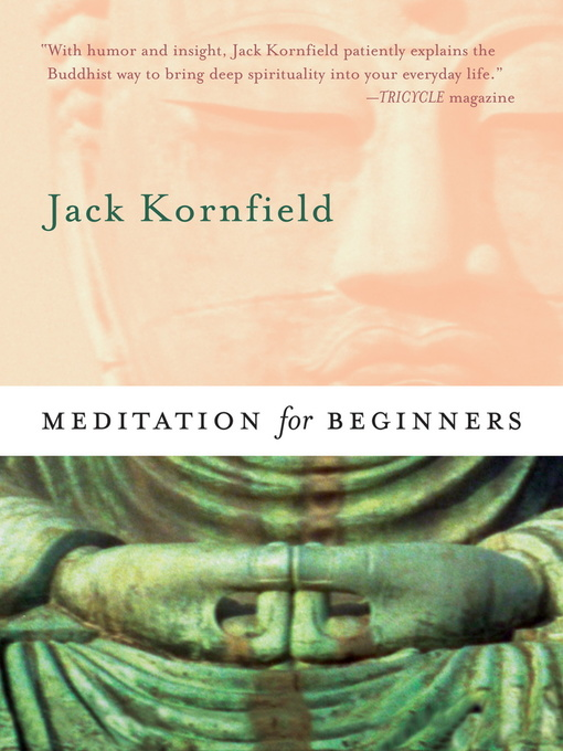 Title details for Meditation for Beginners by Jack Kornfield - Available