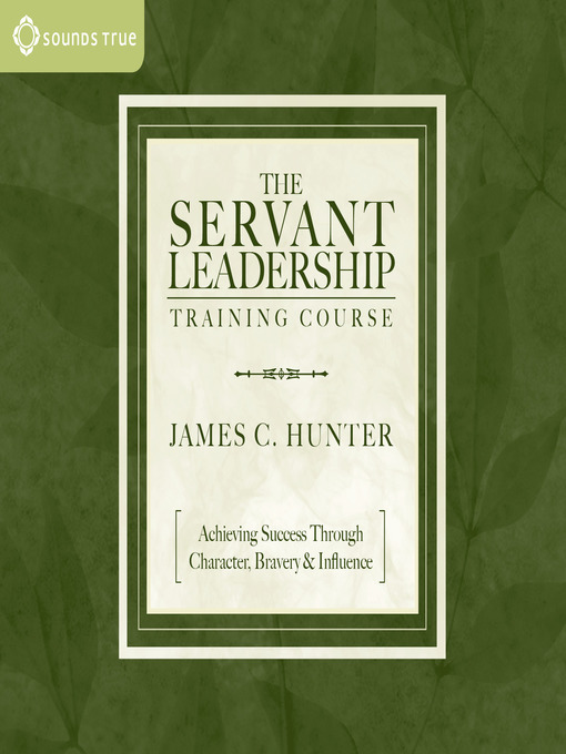 the servant leadership training course pdf