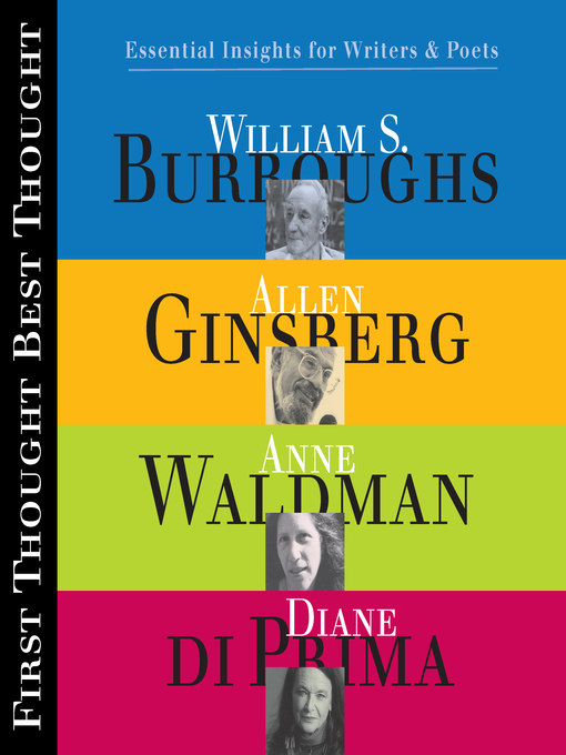 Title details for First Thought Best Thought by Allen S. Ginsberg - Available
