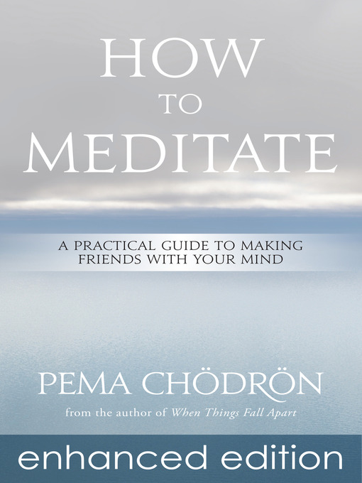 Title details for How to Meditate by Pema Chödrön - Wait list