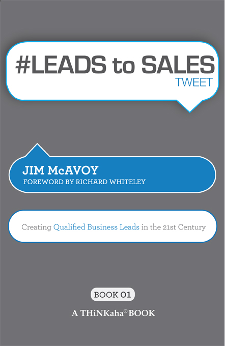 Title details for #LEADS to SALES tweet Book01 by Jim McAvoy - Available