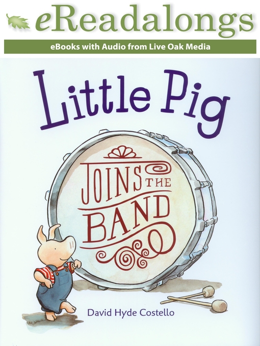 Cover of Little Pig Joins the Band