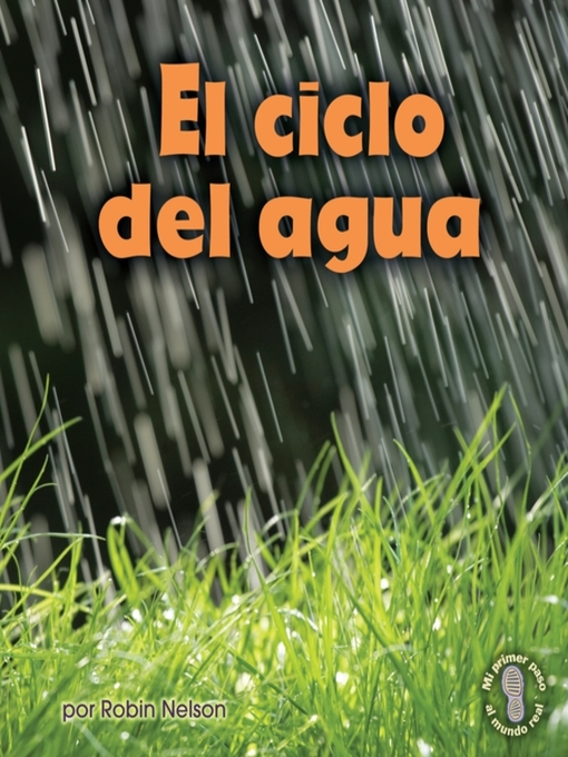 Cover image for book: El ciclo del agua (Earth's Water Cycle)