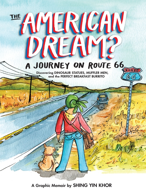 The American Dream?: A Journey on Route 66 Discovering Dinosaurs... , book cover