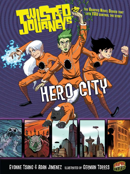 Title details for Hero City by Evonne Tsang - Available