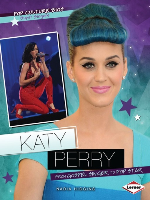 Title details for Katy Perry by Nadia Higgins - Available