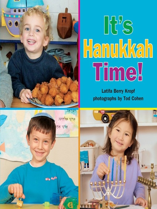 Cover image for book: It's Hanukkah Time!