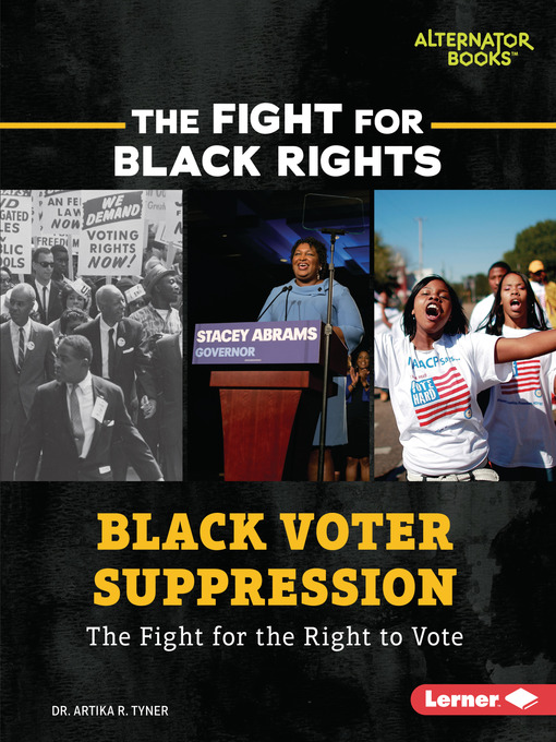 Title details for Black Voter Suppression by Dr. Artika R. Tyner - Available