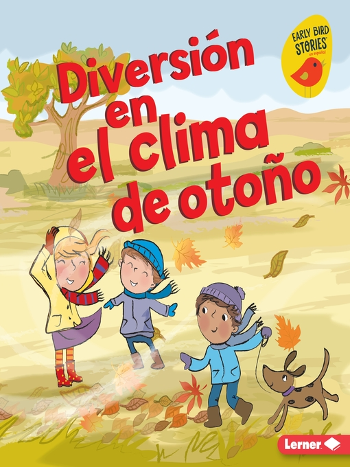 Cover of Diversión en el clima de otoño (Fall Weather Fun)