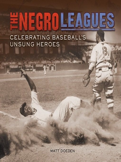 Cover of The Negro Leagues