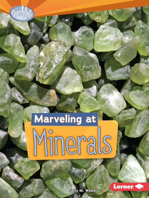 Title details for Marveling at Minerals by Sally M. Walker - Available