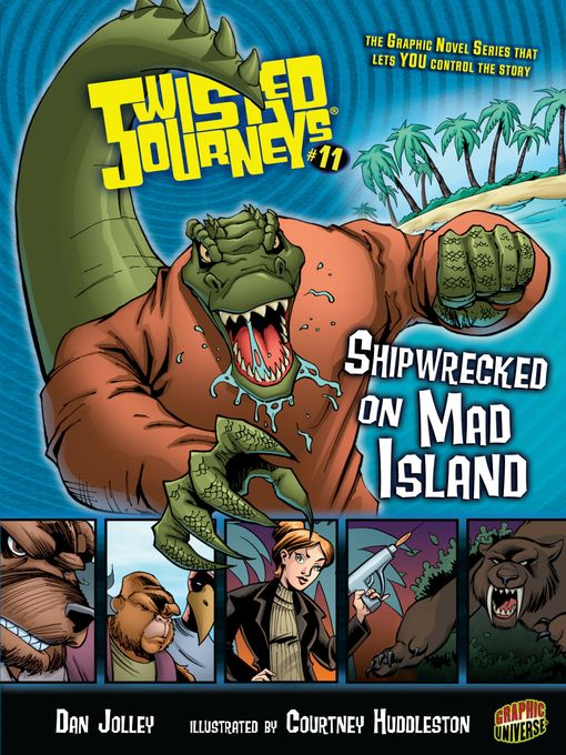 Cover image for Shipwrecked on Mad Island