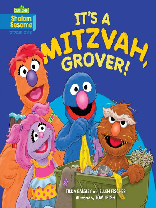 Cover of It's a Mitzvah, Grover!