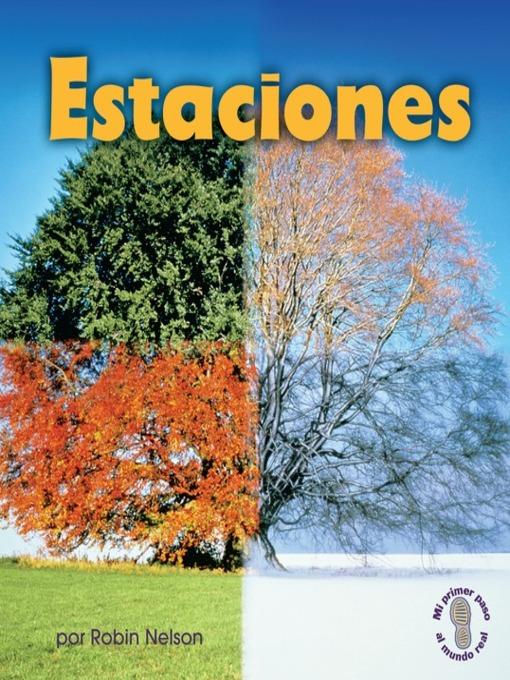 Title details for Estaciones (Seasons) by Robin Nelson - Wait list