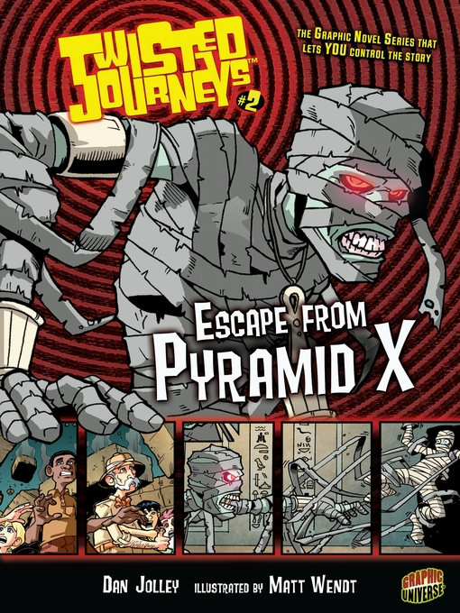 Cover image for Escape from Pyramid X