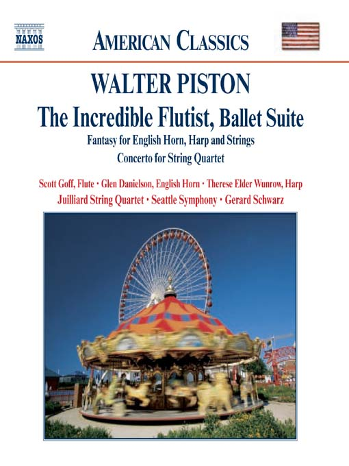 Title details for PISTON: The Incredible Flutist / Fantasy for English Horn, Harph and Strings by Walter Piston - Wait list