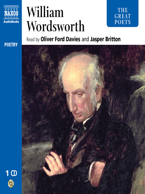 an introduction to the life and poetry by william wordsworth William wordsworth  without a few words of introduction, poems so materially different from those upon which general approbation is at present bestowed.