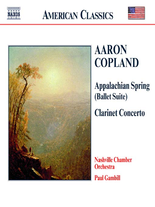 Title details for COPLAND: Appalachian Spring / Clarinet Concerto / Quiet City by Aaron Copland - Wait list