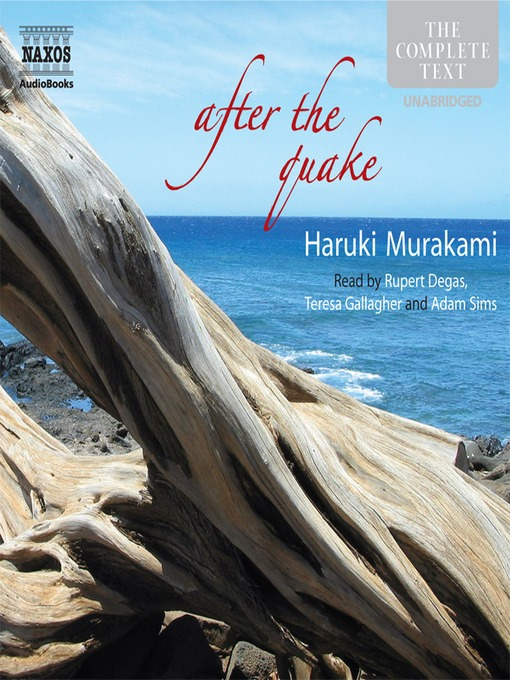 Title details for After The Quake by Haruki Murakami - Wait list