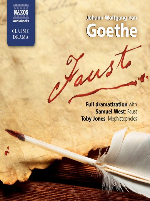 Title details for Faust by Johann Wolfgang von Goethe - Wait list