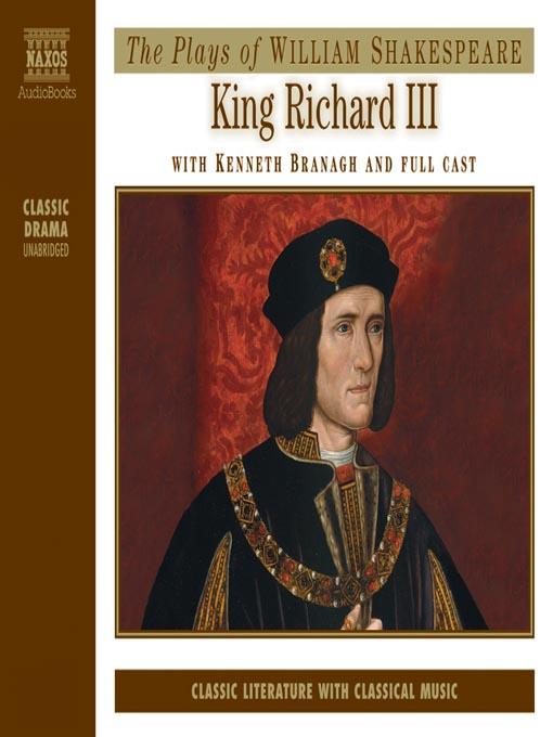 king richard iii naxos audiobooks
