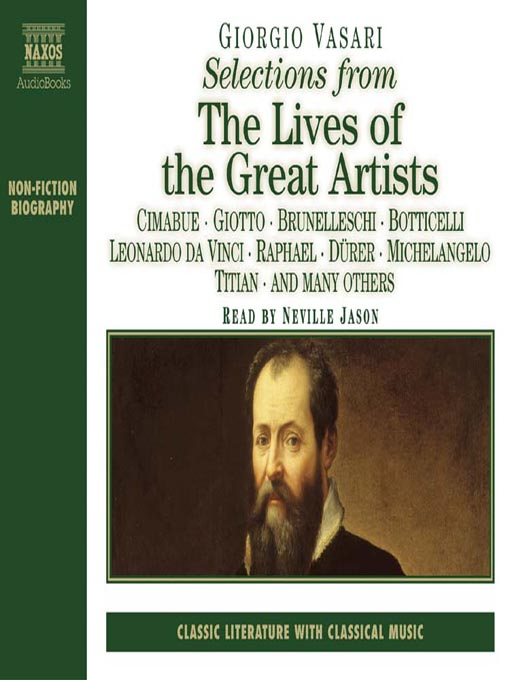 """a summary of lives of the artists by giorgio vasari Copies of vasari's lives of the artists online: """"giorgio vasari's lives of the artists."""
