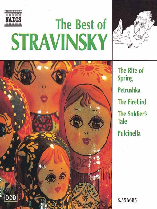 Title details for STRAVINSKY (The Best of) by Igor Stravinsky - Wait list