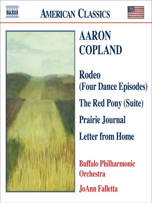 Title details for COPLAND: Prairie Journal / the Red Pony Suite / Letter from Home by Aaron Copland - Wait list