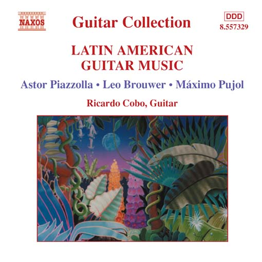 Title details for Latin American Guitar Music by Astor Piazzolla - Wait list