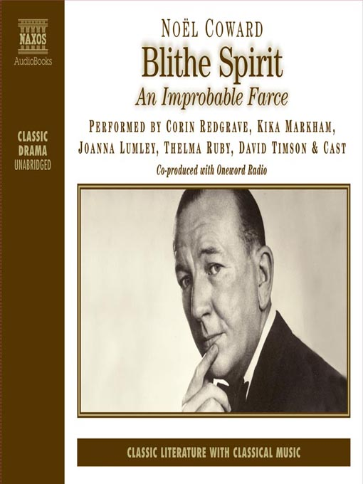 Cover image for Blithe Spirit