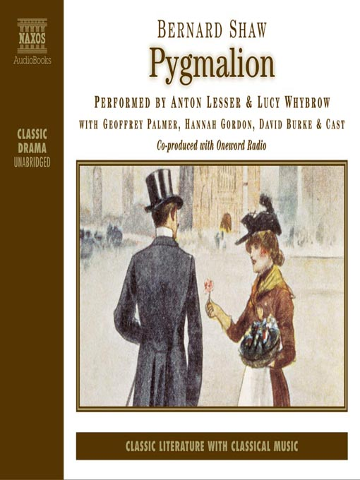a literary analysis of pygmalion by bernard shaw Pygmalion author genre pygmalion is realism, a form of drama realism was a movement in theater in the 19th century realism focuses on real life settings, middle class people, and a dull environment.
