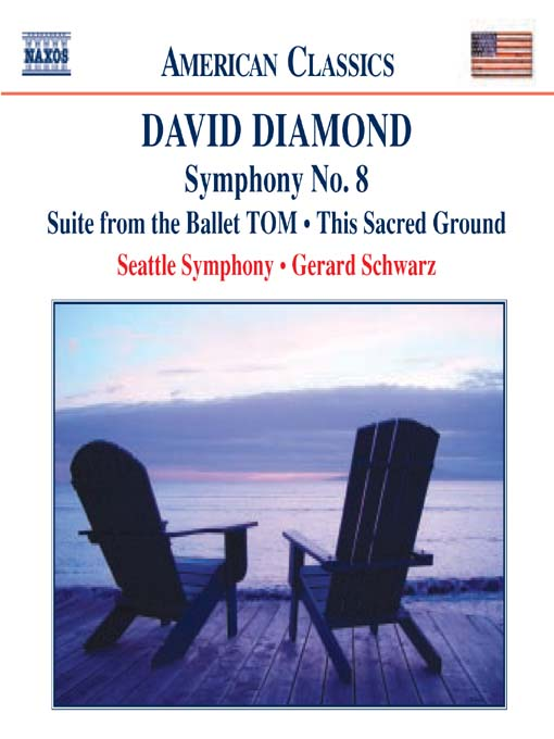 Title details for DIAMOND: TOM Suite / Symphony No 8 / This Sacred Ground by David Diamond - Wait list