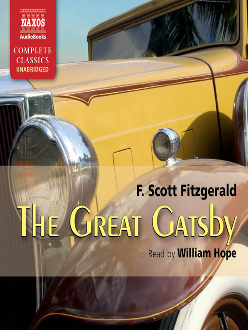 Title details for The Great Gatsby by F. Scott Fitzgerald - Available