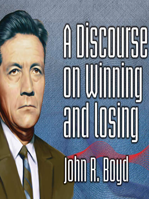 Cover of A Discourse on Winning and Losing