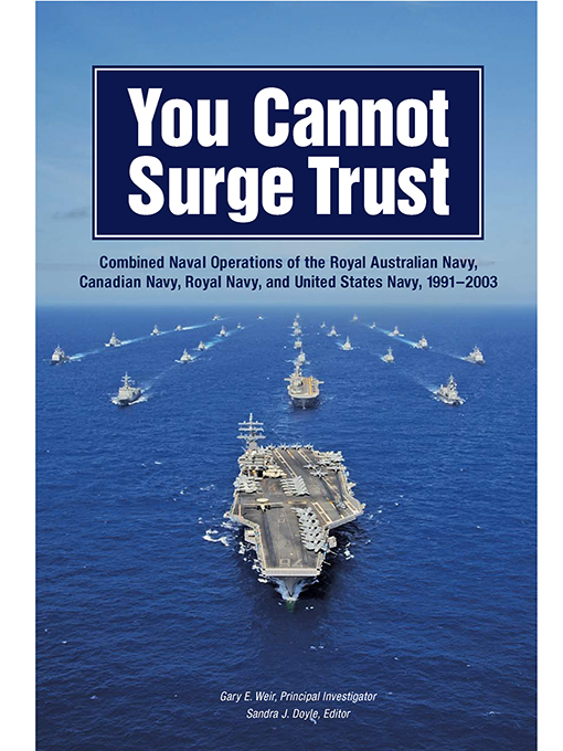 Cover of You Cannot Surge Trust