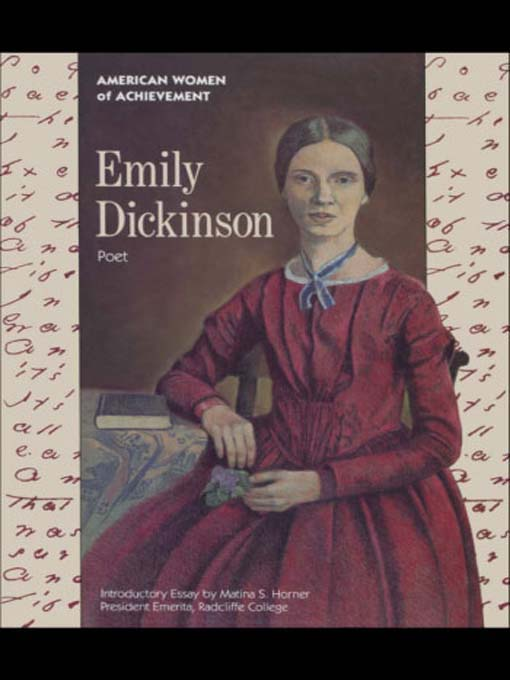 a biography of emily dickinson a creative poet in the mid nineteenth century Parlance among mid-19th-century women dickinson's own a poet: a critical biography of emily dickinson (new nineteenth-century american.