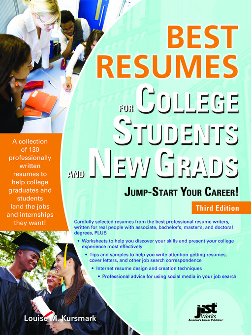 Title details for Best Resumes for College Students and New Grads by Louise M. Kursmark - Available