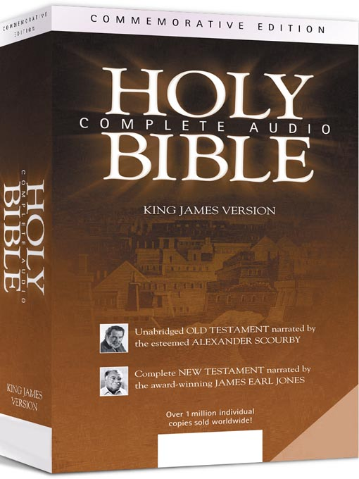 Title details for Complete Audio Holy Bible by James Earl Jones - Wait list