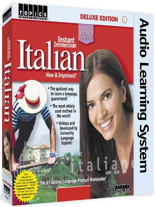 Title details for Instant Immersion Italian by TOPICS Entertainment - Wait list