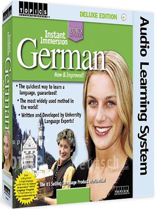Title details for Instant Immersion German by TOPICS Entertainment - Wait list