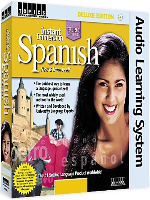 Cover of Instant Immersion Spanish