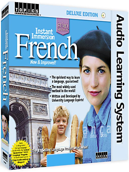 Cover of Instant Immersion French