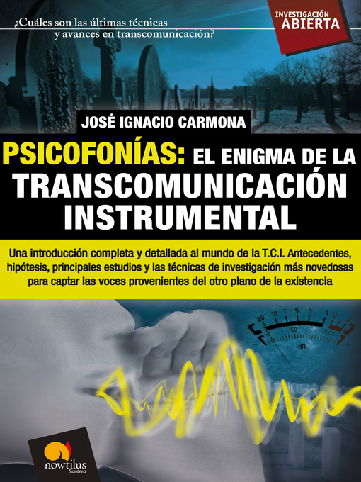 Title details for Psicofonías by José Ignacio Carmona - Available