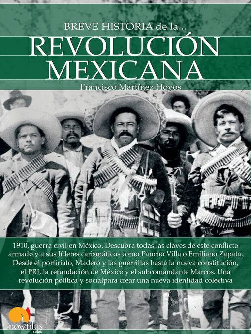 Title details for Breve historia de la Revolución mexicana by Francisco Martínez Hoyos - Available