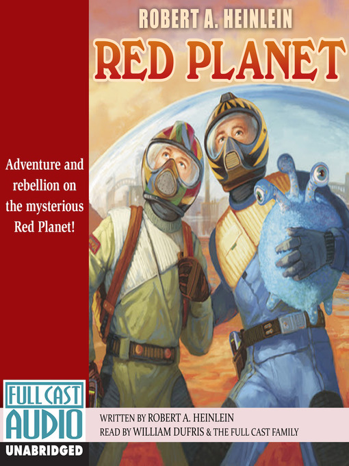 Title details for The Red Planet by Robert A. Heinlein - Available